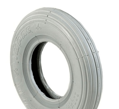 New 200x50 8x2 Grey Ribbed Pneumatic Tyre Tire For Mobility Scooter