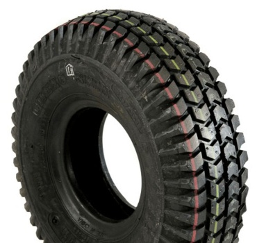 New 260x85 (3.00-4) Innova Block Black Pneumatic Tyre For A Scooter