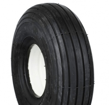 New 3.00-4 260x85 Ribbed Black Solid Tyre Tire For A Mobility Scooter