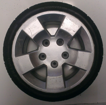 Used 12-9x4 Solid Wheel & Tyre For A Mobility Scooter X870