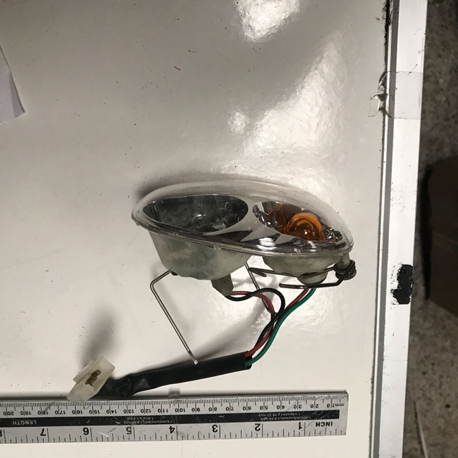 Used Headlight & Indicator Cluster Shoprider Mobility Scooter S889