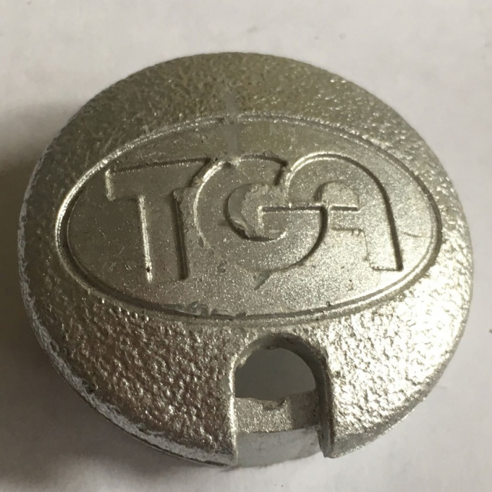 Used Hubcap Wheel Cover For A TGA Mobility Scooter V596