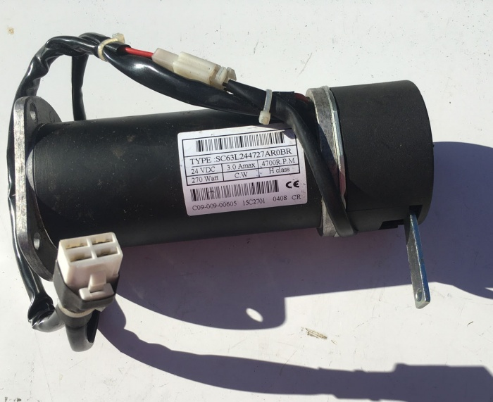 Used Motor & Brake C09-009-00605 For A CareCo Mobility Scooter V6905