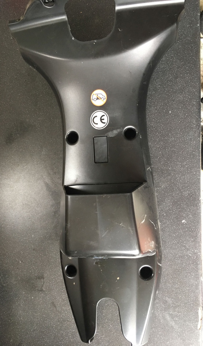 Used Steering Stem Faring For An Invacare Orion Mobility Scooter V742