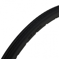 24 x 1 3/8 Black Solid Mobility Wheelchair Tyre Tire