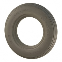 New 200x50 Greentyre Ribbed Grey Solid Tyre Tire For Mobility Scooter
