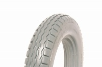 Single12.5 x 2.25 (40-42mm Rim Fit) Grey Solid Tyre Booster Powerchair