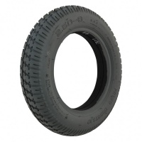 New 2.50-8 Grey Solid 48mm Duratrap Tyre Tire For A Mobility Scooter