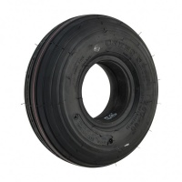 New 3.50-8 Black Ribbed Pneumatic Tyre Tire For A Mobility Scooter