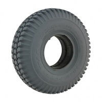 New 3.00-4 260x85 Grey Solid Block 63mm Tyre Tire For Mobility Scooter