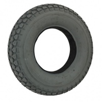 New 4.00-8 Grey Block Solid Tyre Tire For A Mobility Scooter
