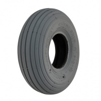 New 3.00-4 260x85 Grey Ribbed Pneumatic Tyre Tire For Mobility Scooter